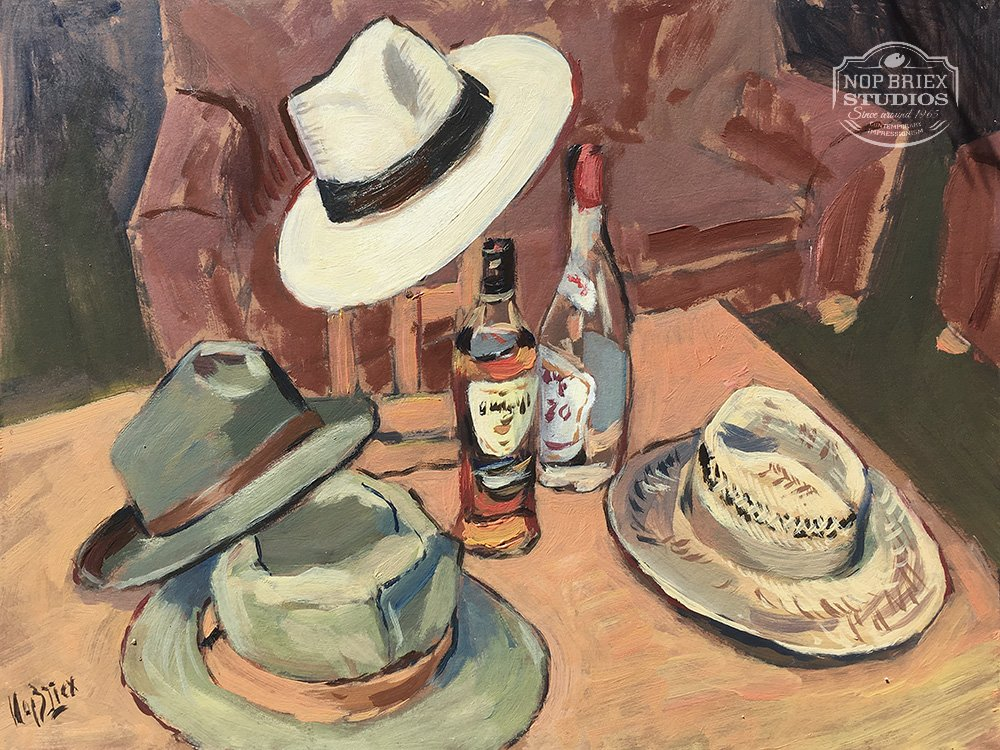 Hats and Drinks by Nop Briex
