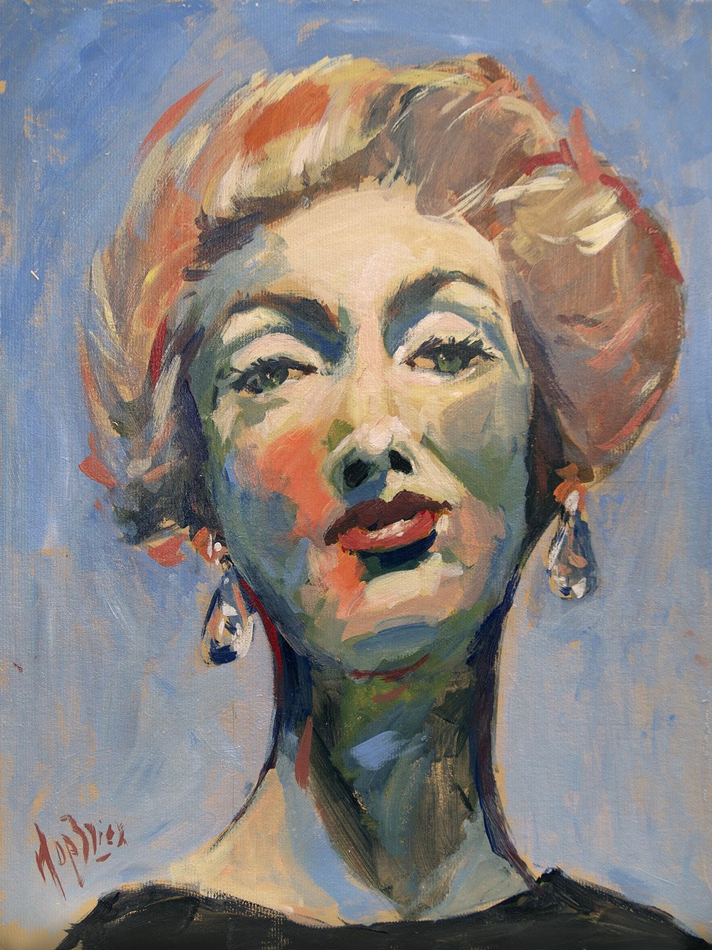 Marella Agnelli by Nop Briex