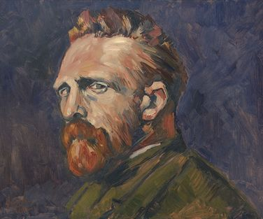 Vincent van Gogh by Briex after Russell 50x40cmoilhb LR